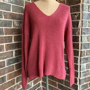 Tucker Sweater - Raspberry